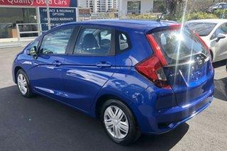 2018 Honda Jazz GF MY18 VTi Brilliant Sporty Blue 1 Speed Constant Variable Hatchback