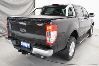 2015 Ford Ranger PX MkII XLT Double Cab Black Mica 6 Speed Sports Automatic Utility