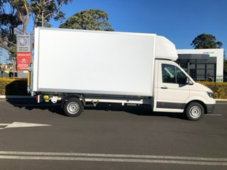 2021 Volkswagen Crafter SY1 MY21 35 LWB FWD TDI340 White 8 Speed Automatic Box Body.
