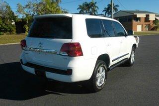 2013 Toyota Landcruiser VDJ200R MY13 Sahara White 6 Speed Sports Automatic Wagon.