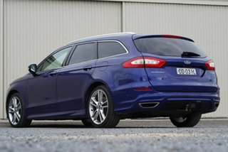2017 Ford Mondeo MD 2017.50MY Titanium Blue 6 Speed Sports Automatic Hatchback.