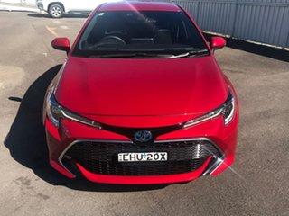 2020 Toyota Corolla ZWE211R ZR E-CVT Hybrid Red 10 Speed Constant Variable Hatchback Hybrid.