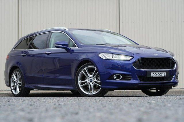 Used Ford Mondeo MD 2017.50MY Titanium Clare, 2017 Ford Mondeo MD 2017.50MY Titanium Blue 6 Speed Sports Automatic Hatchback