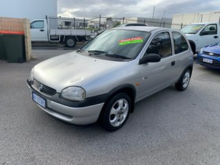 2000 Holden Barina SB City Olympic Edition Silver 4 Speed Automatic Hatchback.