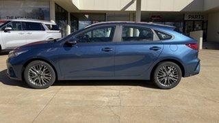 2021 Kia Cerato BD MY22 Sport+ Mineral Blue 6 Speed Sports Automatic Hatchback.