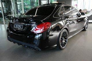 2016 Mercedes-Benz C-Class W205 807MY C63 AMG SPEEDSHIFT MCT S Black 7 Speed Sports Automatic Sedan