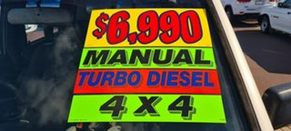 1994 Holden Rodeo TF DLX Crew Cab White 5 Speed Manual Utility