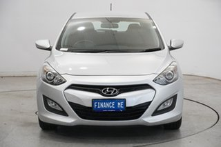 2013 Hyundai i30 GD2 Active Silver 6 Speed Sports Automatic Hatchback.