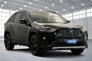 2019 Toyota RAV4 Axah54R Cruiser eFour Black 6 Speed Constant Variable Wagon Hybrid.
