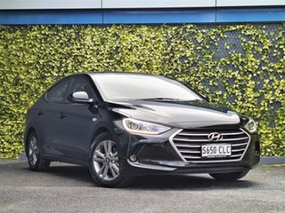 2016 Hyundai Elantra AD MY17 Active Black 6 Speed Manual Sedan.
