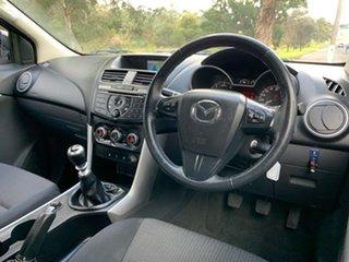 2015 Mazda BT-50 UP XTR White Manual Utility