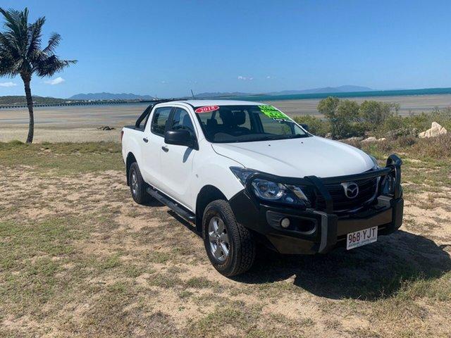 Used Mazda BT-50 XT Bowen, 2018 Mazda BT-50 XT White 6 Speed Manual Dual Cab