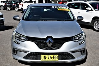 2017 Renault Megane BFB GT EDC Silver 7 Speed Sports Automatic Dual Clutch Hatchback.