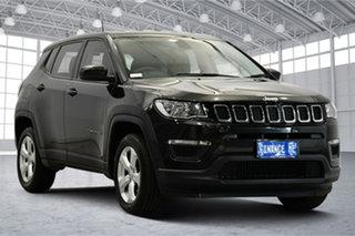 2017 Jeep Compass M6 MY18 Sport FWD Black 6 Speed Automatic Wagon.