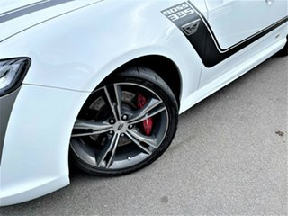 2013 Ford Performance Vehicles GT FG Mk II Boss 335 White 6 Speed Manual Sedan.
