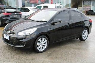 2018 Hyundai Accent RB6 MY18 Sport Black 6 Speed Sports Automatic Sedan.