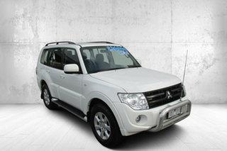 2014 Mitsubishi Pajero NW MY14 GLX-R White 5 Speed Sports Automatic Wagon.