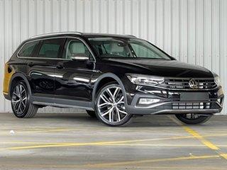 2021 Volkswagen Passat 3C (B8) MY21 Alltrack DSG 4MOTION 162TSI Premium Black 7 Speed.