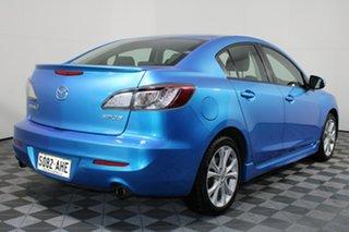2009 Mazda 3 BL10L1 SP25 Blue 6 Speed Manual Sedan.