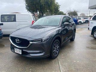 2017 Mazda CX-5 KF4WLA GT SKYACTIV-Drive i-ACTIV AWD Grey 6 Speed Sports Automatic Wagon.
