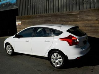 2013 Ford Focus LW MkII Ambiente PwrShift White 6 Speed Sports Automatic Dual Clutch Hatchback