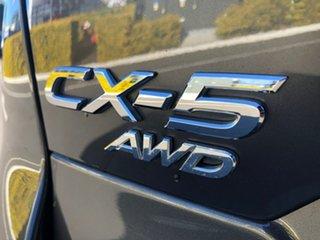 2017 Mazda CX-5 KF4WLA Maxx SKYACTIV-Drive i-ACTIV AWD Sport Grey 6 Speed Sports Automatic Wagon