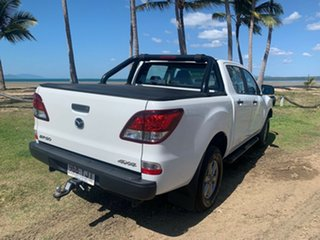 2018 Mazda BT-50 XT White 6 Speed Manual Dual Cab
