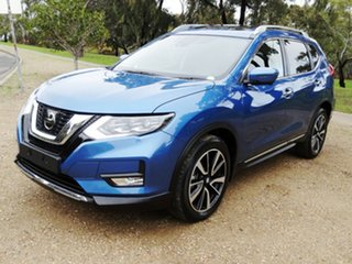 2018 Nissan X-Trail T32 Series II Ti X-tronic 4WD Blue 7 Speed Constant Variable Wagon.