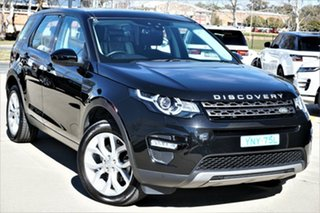 2016 Land Rover Discovery Sport L550 17MY TD4 150 SE Black 9 Speed Sports Automatic Wagon.