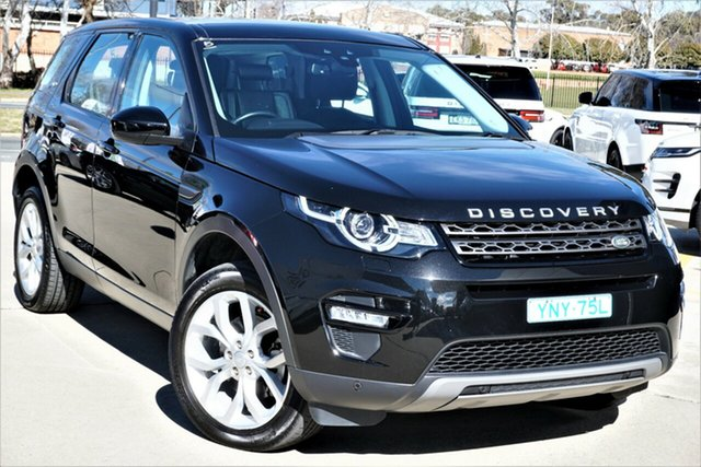 Used Land Rover Discovery Sport L550 17MY TD4 150 SE Phillip, 2016 Land Rover Discovery Sport L550 17MY TD4 150 SE Black 9 Speed Sports Automatic Wagon