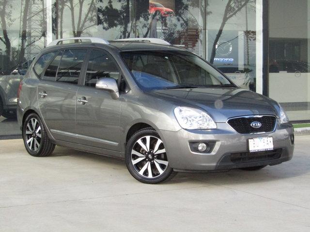 Used Kia Rondo UN MY11 SLi Ravenhall, 2011 Kia Rondo UN MY11 SLi Silver 4 Speed Sports Automatic Wagon