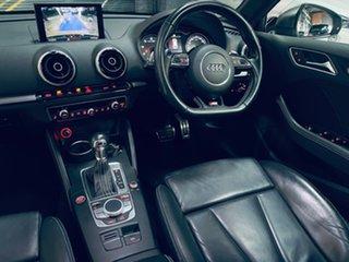 2014 Audi S3 8V MY15 Sportback S Tronic Quattro Black 6 Speed Sports Automatic Dual Clutch Hatchback.