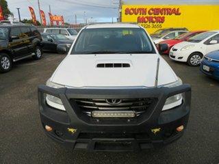 2014 Toyota Hilux KUN16R MY14 SR White 5 Speed Manual Dual Cab Pick-up.