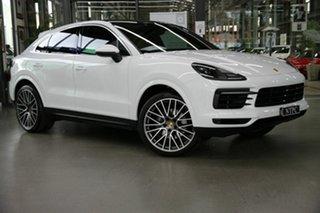 2020 Porsche Cayenne 9YB MY20 Coupe Tiptronic White 8 Speed Sports Automatic Wagon.