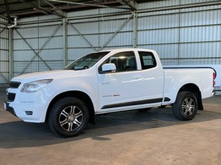 2013 Holden Colorado RG MY13 LX Space Cab White 6 Speed Sports Automatic Cab Chassis.