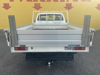 2012 Toyota Hilux GGN15R MY12 SR White 6 Speed Automatic Single Cab