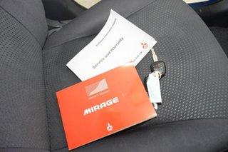 2015 Mitsubishi Mirage LA MY15 ES Blue 1 Speed Constant Variable Sedan