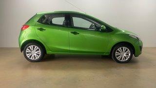 2010 Mazda 2 DE Neo Green 5 Speed Manual Hatchback.