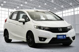 2016 Honda Jazz GF MY16 VTi-S White 1 Speed Constant Variable Hatchback.