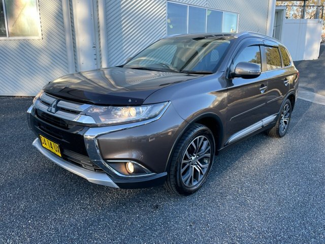 Used Mitsubishi Outlander ZK MY16 XLS 2WD Maitland, 2015 Mitsubishi Outlander ZK MY16 XLS 2WD Ironbark 6 Speed Constant Variable Wagon
