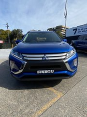 2020 Mitsubishi Eclipse Cross YA MY20 ES 2WD Blue 8 Speed Constant Variable Wagon