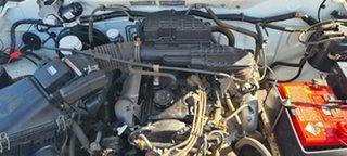 2003 Mitsubishi Triton MK MY02 GLX Double Cab 4x2 White 5 Speed Manual Utility.