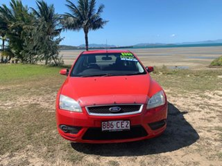 2008 Ford Focus Red Automatic Sedan.