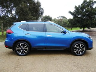 2018 Nissan X-Trail T32 Series II Ti X-tronic 4WD Blue 7 Speed Constant Variable Wagon