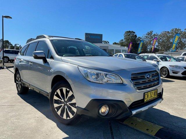 Used Subaru Outback B6A MY17 2.5i CVT AWD Glendale, 2017 Subaru Outback B6A MY17 2.5i CVT AWD Silver 6 Speed Constant Variable Wagon