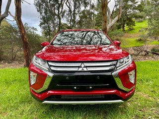 2017 Mitsubishi Eclipse Cross YA MY18 LS 2WD Red 8 Speed Constant Variable Wagon