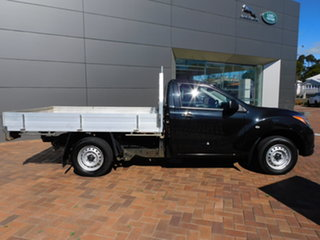2015 Mazda BT-50 UP0YD1 XT 4x2 Black 6 Speed Manual Cab Chassis.