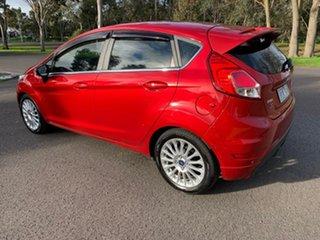 2015 Ford Fiesta WZ Sport Red 6 Speed Sports Automatic Dual Clutch Hatchback.