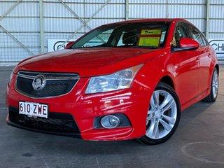 2014 Holden Cruze JH Series II MY14 SRi-V Red 6 Speed Manual Sedan.