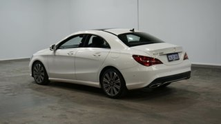2018 Mercedes-Benz CLA-Class C117 809MY CLA200 DCT White 7 Speed Sports Automatic Dual Clutch Coupe.